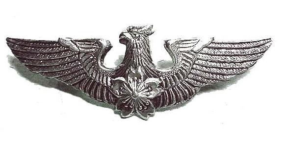 航空搭乗員徽章