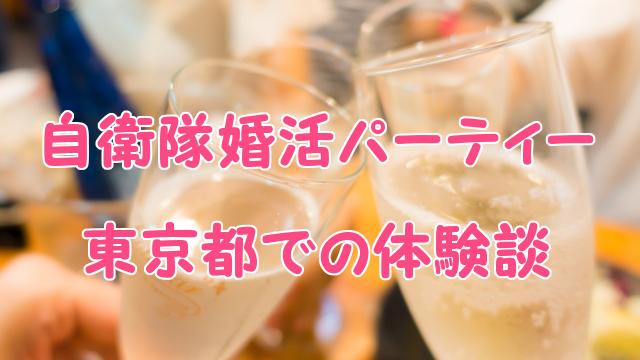 東京都の自衛隊婚活パーティー感想