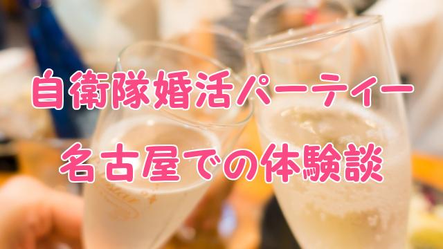 名古屋の婚活パーティー感想